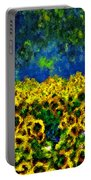 Sunflowers No2 Portable Battery Charger
