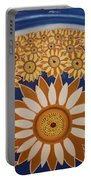 Sunflowers Rich In Blooming Portable Battery Charger