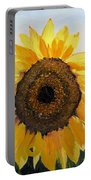 Sunflowers Squared Portable Battery Charger