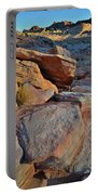 Sunlight Fades Out On Valley Of Fire Portable Battery Charger