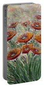 Sunlight Poppies Portable Battery Charger