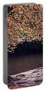 Sunlit Autumn Canopy Portable Battery Charger