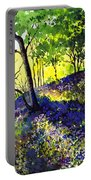 Sunlit Bluebell Wood Portable Battery Charger