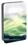 Sunlit Mountain Portable Battery Charger
