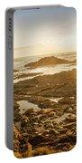 Sunlit Seaside Portable Battery Charger