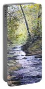 Sunlit Stream Portable Battery Charger