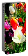 Sunlit Tulips Portable Battery Charger