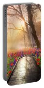 Sunlit Wildflowers Portable Battery Charger
