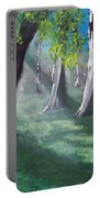 Sunlit Woods Portable Battery Charger