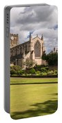 Sunny Day At Hexham Abbey Portable Battery Charger