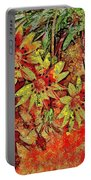Sunny Day Yellow Daisies  Portable Battery Charger