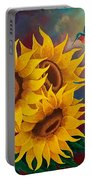 Sunny Faces Portable Battery Charger