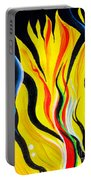 Sunny Morning, Energy. Abstract Art Portable Battery Charger