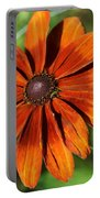 Sunny Orange Daisy  Portable Battery Charger