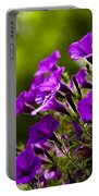 Sunny Petunias 1 Portable Battery Charger
