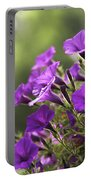 Sunny Petunias 2 Portable Battery Charger