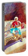 Sunny Retreat 3 Portable Battery Charger by Kathy Braud