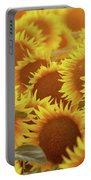 Sunny Sunflower Sunset Portable Battery Charger