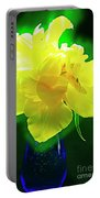 Sunny Tulip In Vase. Portable Battery Charger