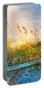 Sunrays On The Beach Portable Battery Charger