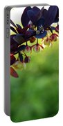 Sunrays With Blooms Portable Battery Charger
