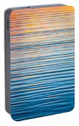 Sunrise Abstract On Calm Waters Portable Battery Charger