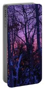 Sunrise And Snow Portable Battery Charger