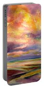 Sunrise And Tide Pool Portable Battery Charger