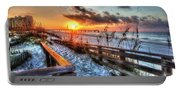 Sunrise At Cotton Bayou  Portable Battery Charger