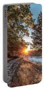 Sunrise At Great Bend Portable Battery Charger