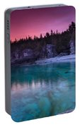 Sunrise At Indian Head Cove Portable Battery Charger