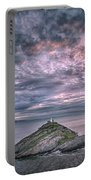Sunrise At Mumbles Lighthouse Portable Battery Charger