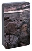 Sunrise At Otter Cliffs #5 Portable Battery Charger