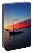Sunrise At Provincetown Pier 1 Portable Battery Charger