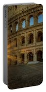 Sunrise At The Colosseum Portable Battery Charger
