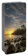 Sunrise At The Sunshine Skyway Portable Battery Charger