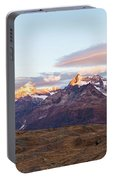 Sunrise At The Swiss Alps Portable Battery Charger
