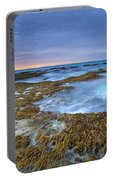Sunrise Beneath The Storm Portable Battery Charger
