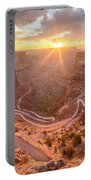 Sunrise In Canyonlands Portable Battery Charger