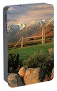 Sunrise In Carson Valley Portable Battery Charger
