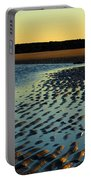 Sunrise In Gold Portable Battery Charger