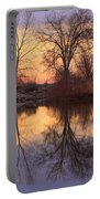 Sunrise Lake Reflections Portable Battery Charger