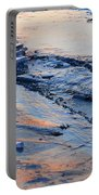 Sunrise Light On The Ice  Portable Battery Charger