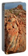 Sunrise On Colorful Sandstone In Valley Of Fire Portable Battery Charger