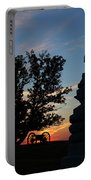 Sunrise On East Cemetery Hill Portable Battery Charger