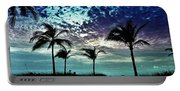 Sunrise On Miami Beach Portable Battery Charger