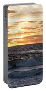 Sunrise On Pompano Beach Pompano Florida Portable Battery Charger