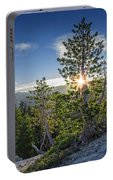 Sunrise On Sentinel Dome Portable Battery Charger