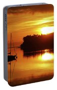 Sunrise On The Cove Portable Battery Charger