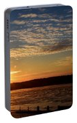 Sunrise On The Mississippi Portable Battery Charger